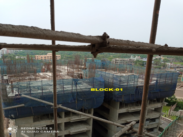 BLOCK-1:    5th floor Casting  have completeed as on 16.04.2021