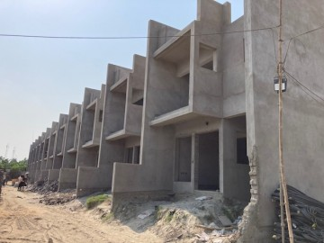 CLUSTER 14 (ROW HOUSE NO. 199-210) ):  brickwork of row house no. 199, 200, 201, 202, 203, 204, 205, 206, 207, 208, 209 and 210 have been completed as on 15.06.2021